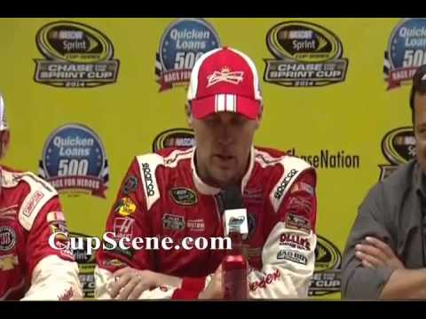 NASCAR at Phoenix International Raceway Nov. 2014: Kevin Harvick post race