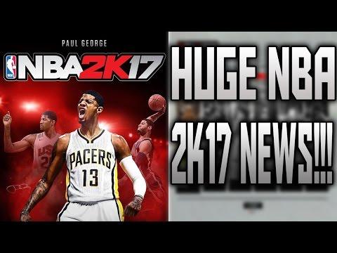 HUGE NBA 2K17 NEWS!!!!!!