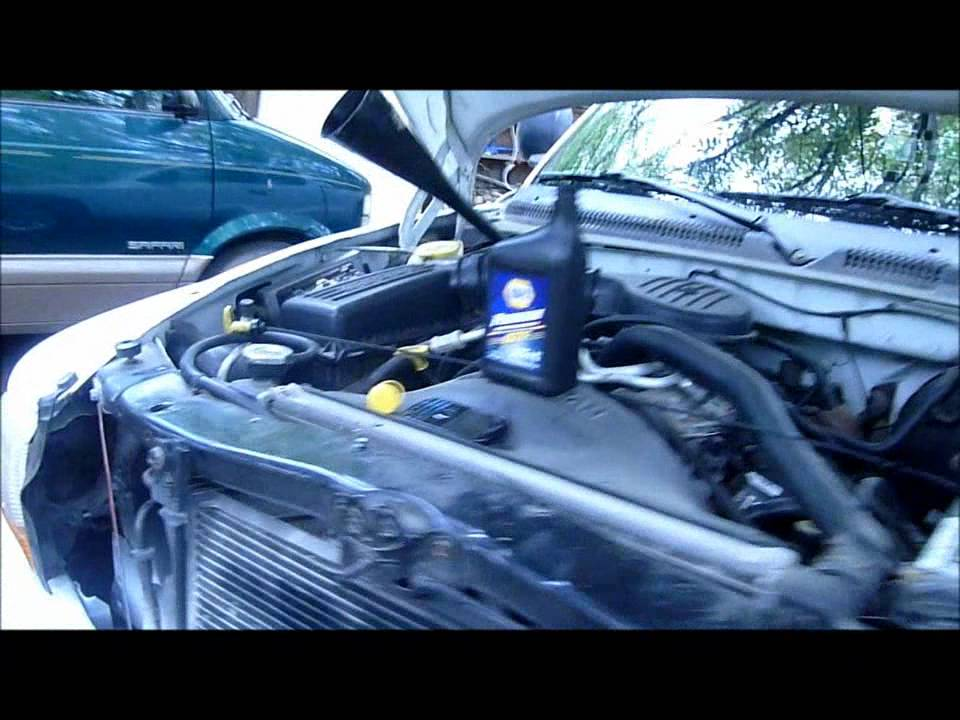 video how to change or check transmisson fluid dodge 3500
