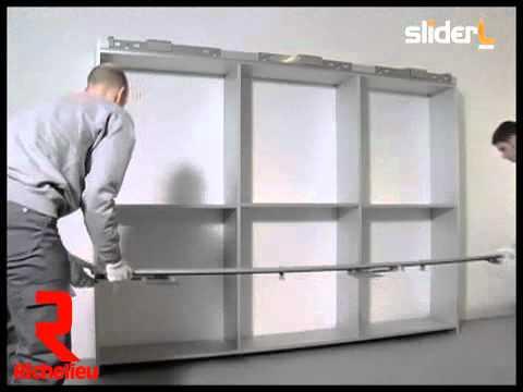 Richelieu Hardware Coplanar Sliding Door Set For
