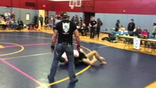 Michael Schrader (BJJ Revolution) vs Levi Prisk (Steel City Martial Arts) - IUP Crimson Combat 2016