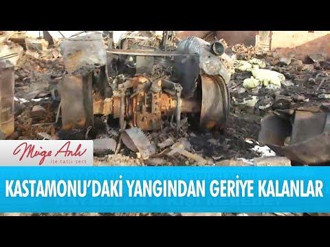 Kastamonu'daki yangından geriye kalanlar - Müge Anlı İle Tatlı Sert 14 Aralık 2017