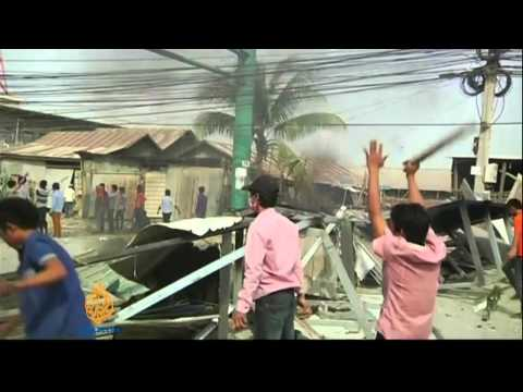 Cambodia garment workers' strike turns deadly