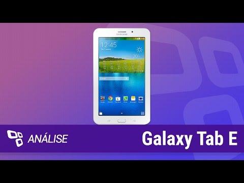 Samsung Galaxy Tab E [Análise] - TecMundo