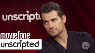 How Does Superman Shave? | 'Man of Steel' Unscripted | Moviefone