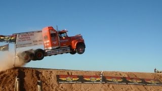 Semi jump world record Truck Jump