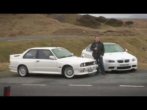 BMW M3 meets its ancestor - by Autocar.co.uk Video