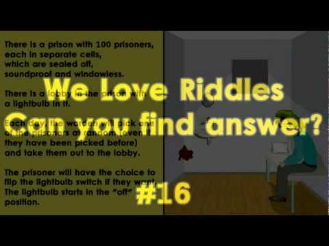 Riddles and Answers - #16 Prison - Hard Riddle