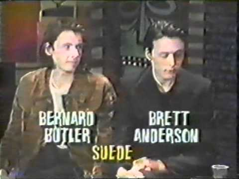 SUEDE - Interview with Brett and Bernard for MTV 1993