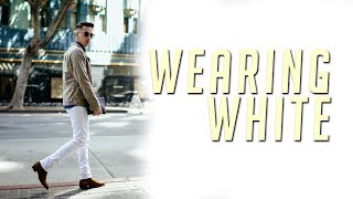 Men's Fashion White Jeans Lookbook || How To || 2017 || Gent's Lounge