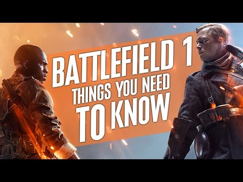 Battlefield 1: 10 NEW Things You NEED TO KNOW