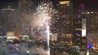 NYE 2018 Miami Florida Fireworks shot on DJI Inspire 2 with X7