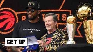 The Raptors and Clippers will have to fight for Kawhi – Woj | Get Up
