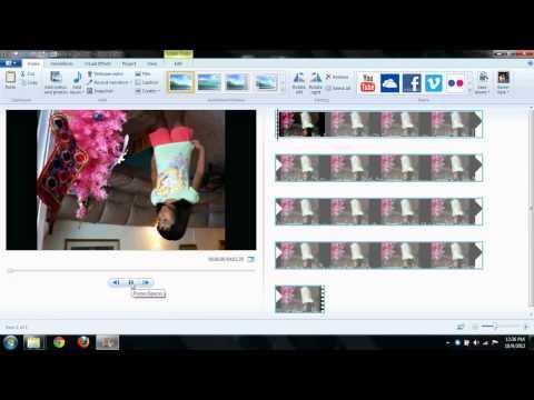 How to catch webcam video