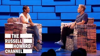 Alesha Dixon on her incredible charity work - The Russell Howard Hour