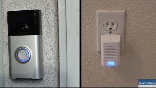 Ring Video Doorbell and Chime Review