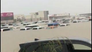 Severe flooding in Japan, Fukuoka - July 7, 2018