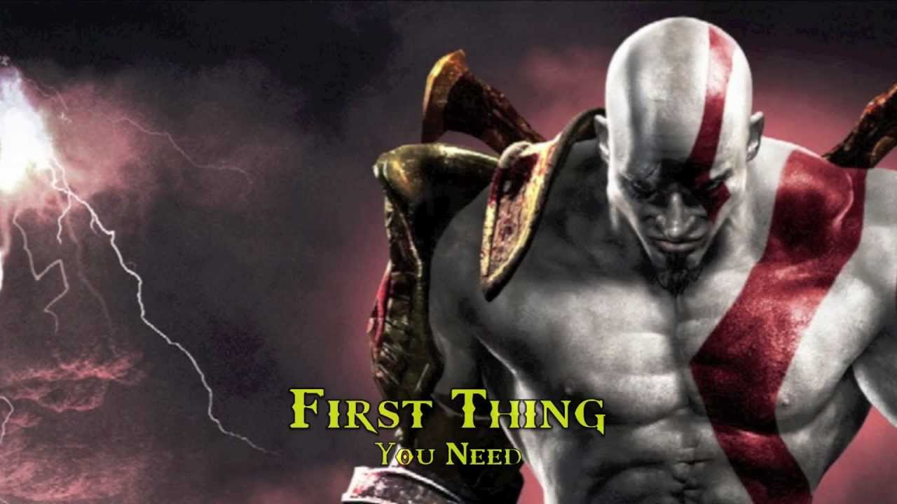 Kratos god of war costume