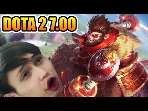 Dota 2 7.00 Monkey King First All Pick Gameplay SingSing Dota 2