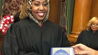 Judge Swears In On Koran, Conservatives Outraged