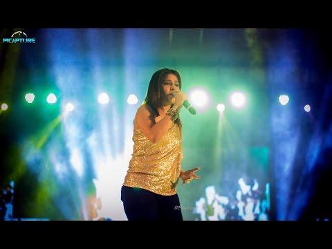 Sunidhi Chauhan Live - Sintillashunz 2016 Hyderabad