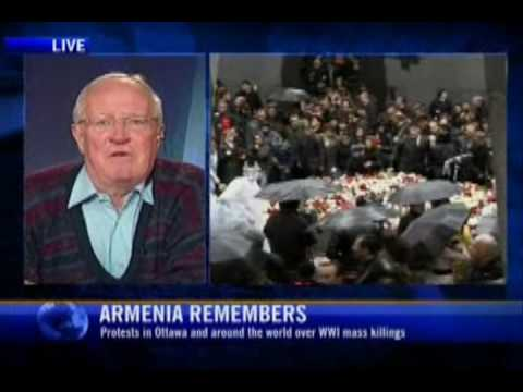 Robert Fisk speaks about the Armenian Genocide by the Turks.  The 1st Holocaust.