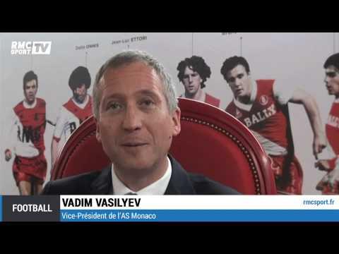 """Football / Vasilyev : """"La saison 2014-2015 sera la saison de Falcao à Monaco"""" 03/08"""