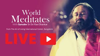 31st May: 12 pm Live Meditation with Gurudev