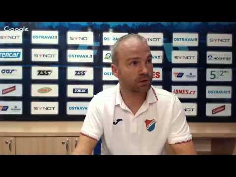 Tisková konference FC Baník Ostrava před utkáním s FK Jablonec