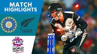 India Skittled for 79 in Opening Match | New Zealand vs India | ICC Men's #WT20 2016 - Highlights