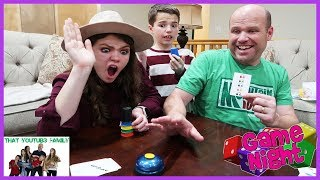Quick Cups Challenge - Family Game Night / That YouTub3 Family