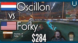 Oscillon (Rank 9) vs Forky (Rank 26) $284 1v1 Showmatch