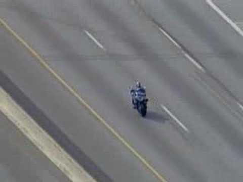 RAW FOOTAGE -Dallas Motorcycle Chase 2006 Music Videos