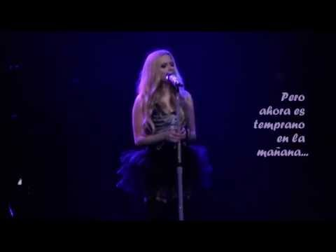 Avril Lavigne - Give You What You Like (Live) (Sub. Esp.)