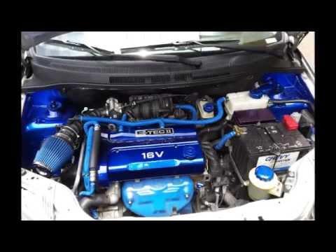 Chevrolet Aveo emotion decoracion de motor en Experience Tuning Bogota