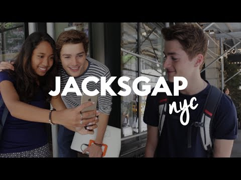 Meeting JacksGap in NYC! | Jack and Finn Harries