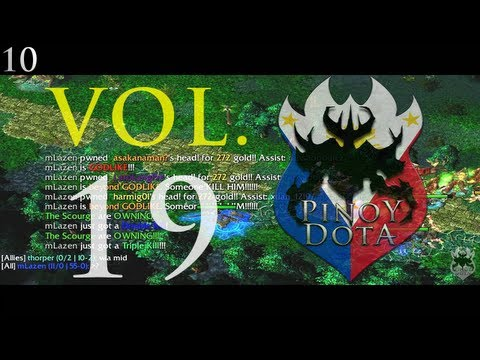 Pinoy DotA Top10 Weekly - PhDotA - Pinoy DotA Top10 Weekly Vol. 19