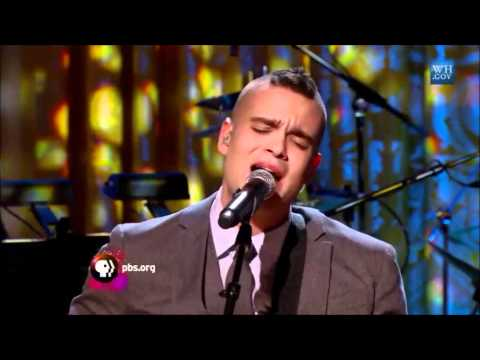 Mark Salling sings