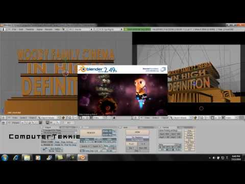 How To Make A Custom 20th Century Fox Introduction- Blender video