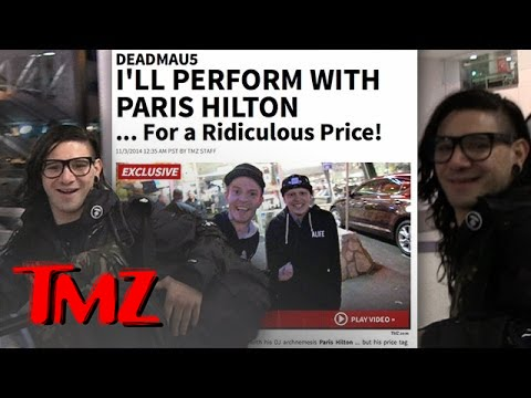 Skrillex Says He Will DJ With Paris Hilton.. But At What Price?