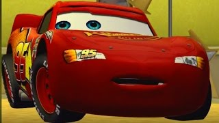 Disney Pixar Cars 1 the Videogame - Episode 1 - Lightning Mcqueen Meets the Monster Mack Truck