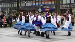 """""""Tańce Kaszubskie"""" -  Mazurski Zespół Pieśni i Tańca 3Maj2011 Ełk"""