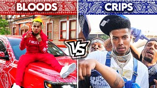 BLOOD RAPPERS vs CRIP RAPPERS!