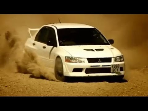 Mitsubishi Evo vs British Army Part 1 - Top Gear - BBC