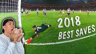 Die besten Torwart Paraden 2018 (Ter Stegen, Keylor Navas, De Gea uva..)