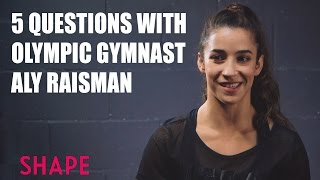 5 Questions with Olympic Gymnast Aly Raisman