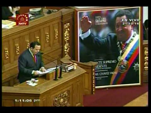 Presentan Ley de Presupuesto nacional de 2015 ante la Asamblea Nacional