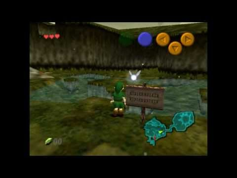 Let´s TEST - The Legend of Zelda: Ocarina of Times N64 (German/Deutsch) [FullHD/1080p]