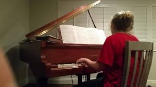 Liberty plays Lullabye by Billy Joel