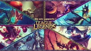 League of Legends- Guía-Como jugar support en la Temporada 2016